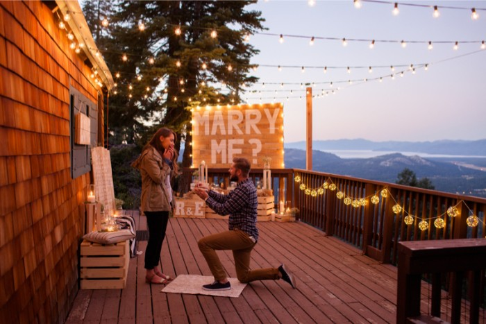 Amazing Lake Tahoe Proposal-92
