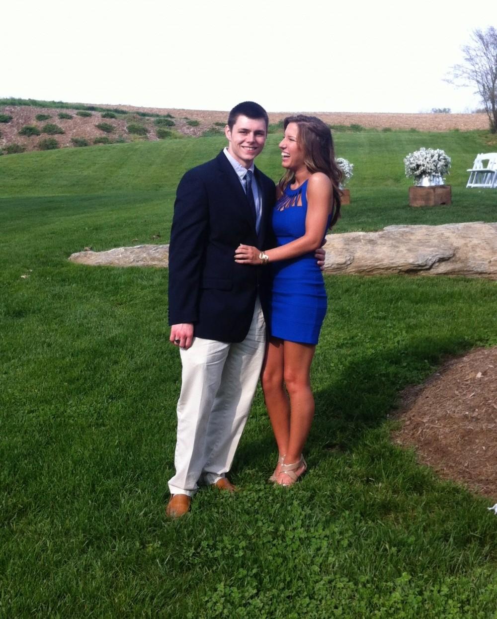 Bride's Proposal in piedmont, sc