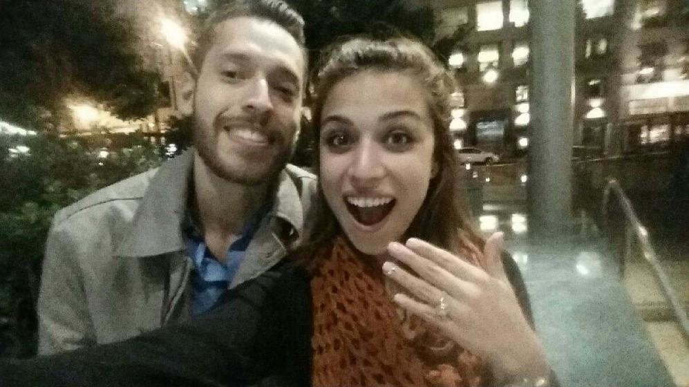 Bride's Proposal in San Francisco, california