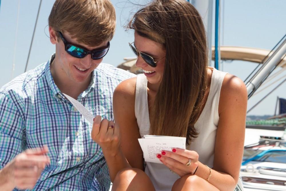 Image 3 of Katie and Landon's Charleston Yacht Proposal