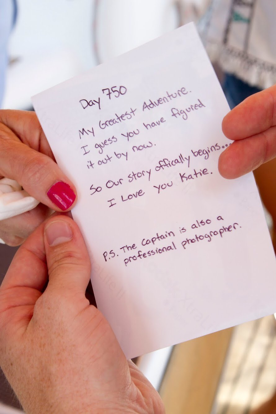 Image 1 of Katie and Landon's Charleston Yacht Proposal
