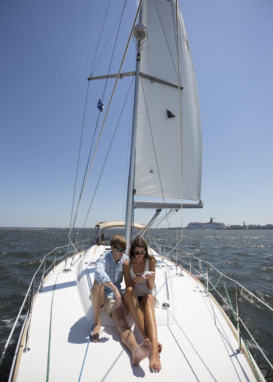 Image 2 of Katie and Landon's Charleston Yacht Proposal