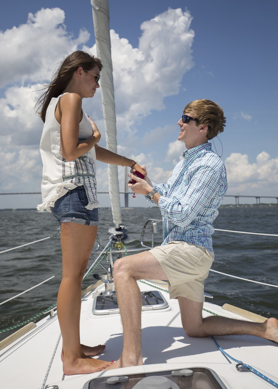 Image 4 of Katie and Landon's Charleston Yacht Proposal