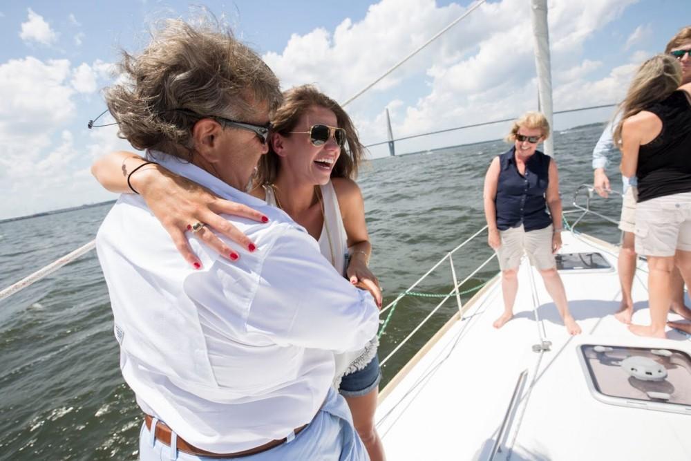 Image 6 of Katie and Landon's Charleston Yacht Proposal
