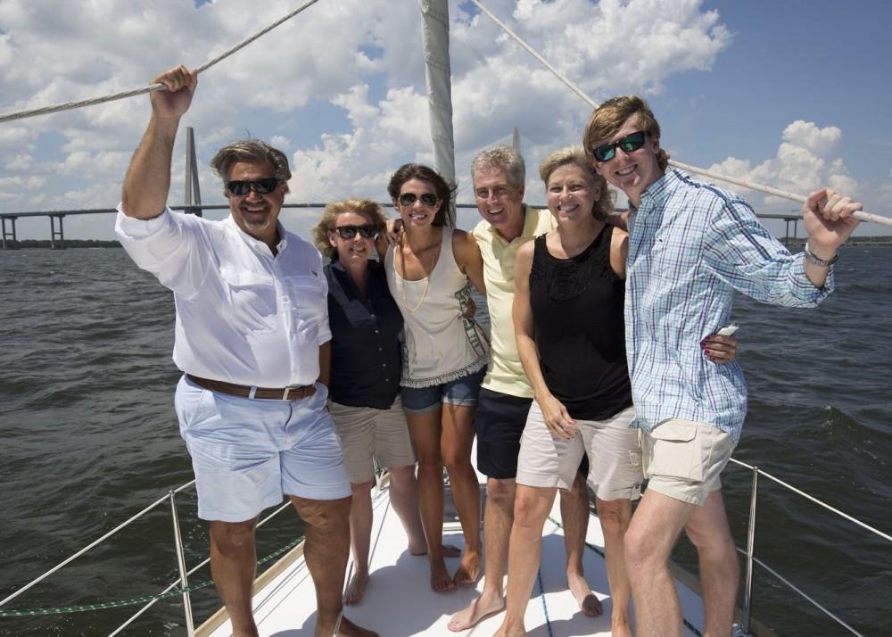Image 7 of Katie and Landon's Charleston Yacht Proposal