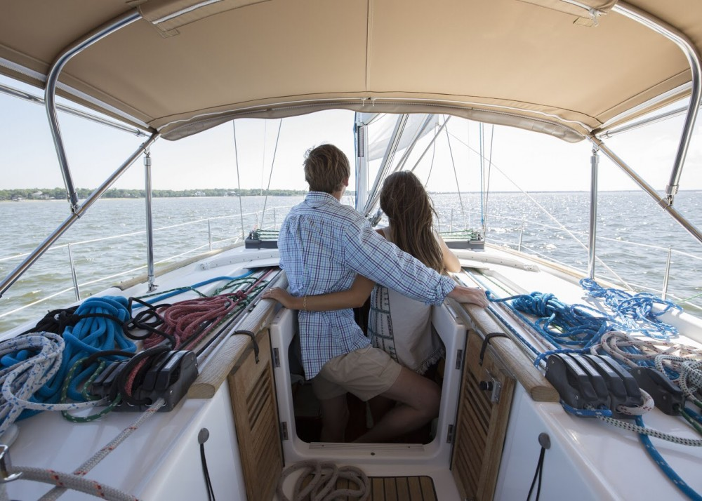 Image 12 of Katie and Landon's Charleston Yacht Proposal