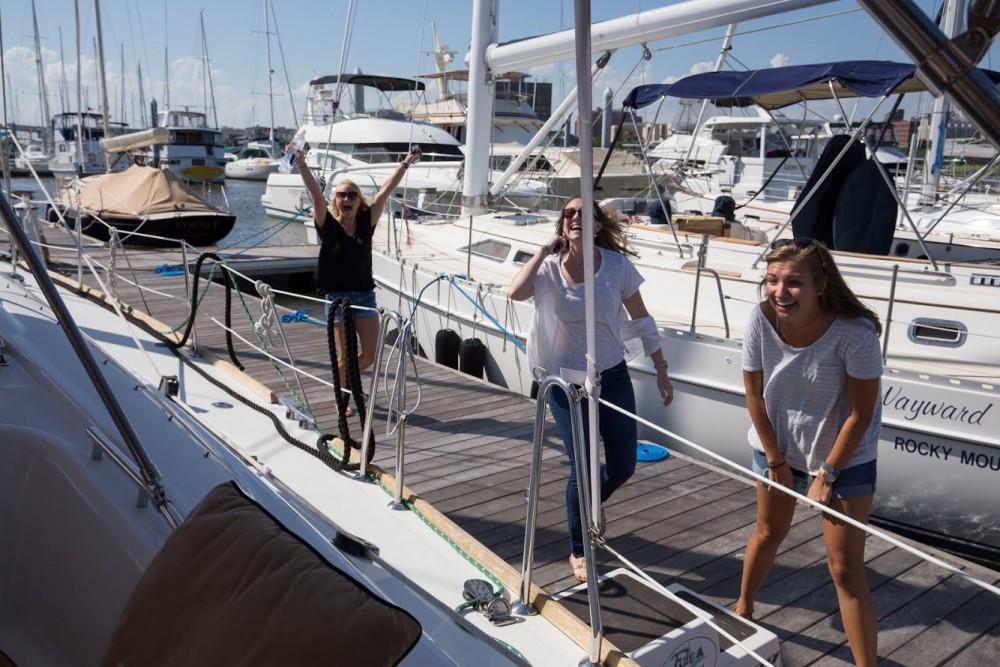 Image 9 of Katie and Landon's Charleston Yacht Proposal