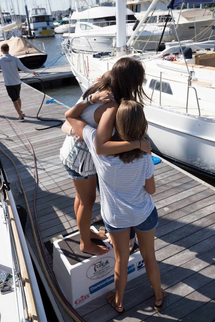 Image 10 of Katie and Landon's Charleston Yacht Proposal
