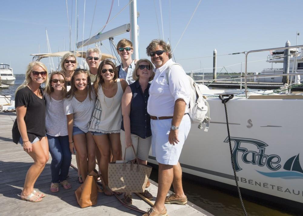 Image 11 of Katie and Landon's Charleston Yacht Proposal