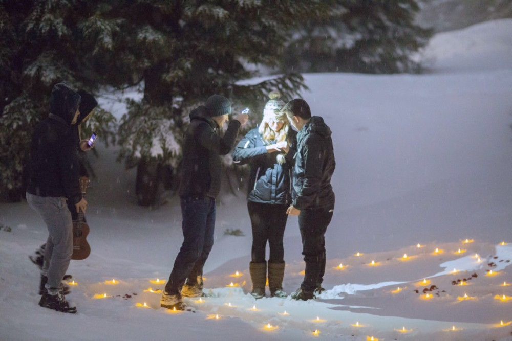Magical Proposal in the Snow 2