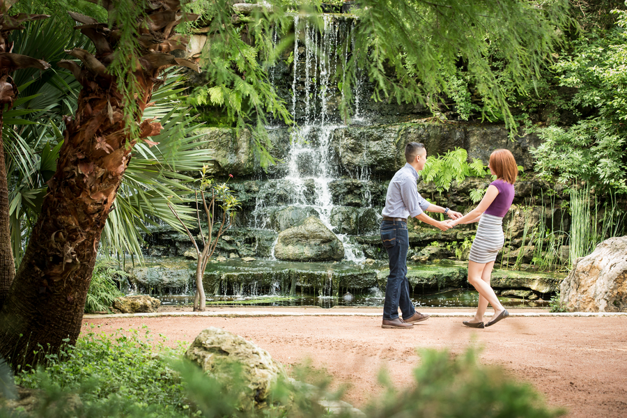 Crysta And Brooks 39 Marriage Proposal At The Botanical Garden
