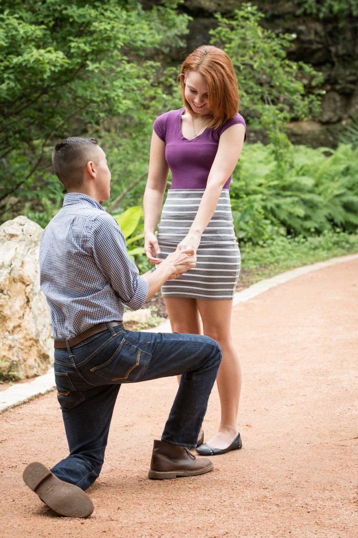 Image 6 of Crysta and Brooks' Proposal at Zilker Botanical Gardens