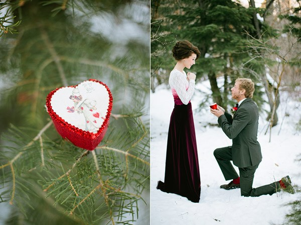 Ornament proposal and other christmas proposal ideas