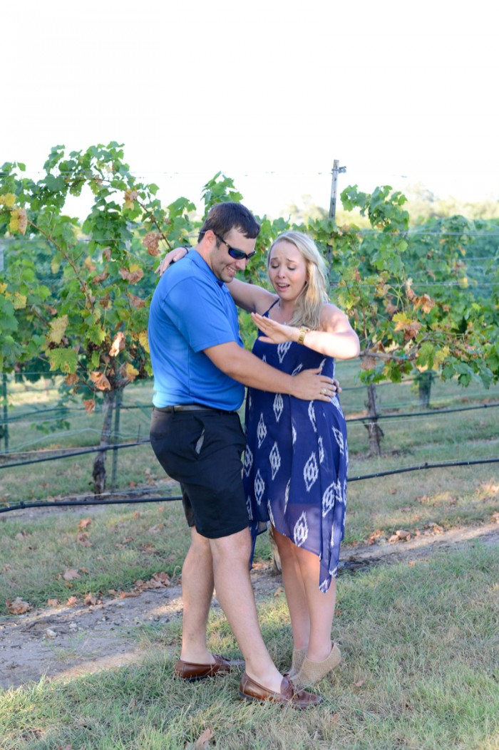 Image 6 of Chris and Paige's Flat Creek Winery Marriage Proposal