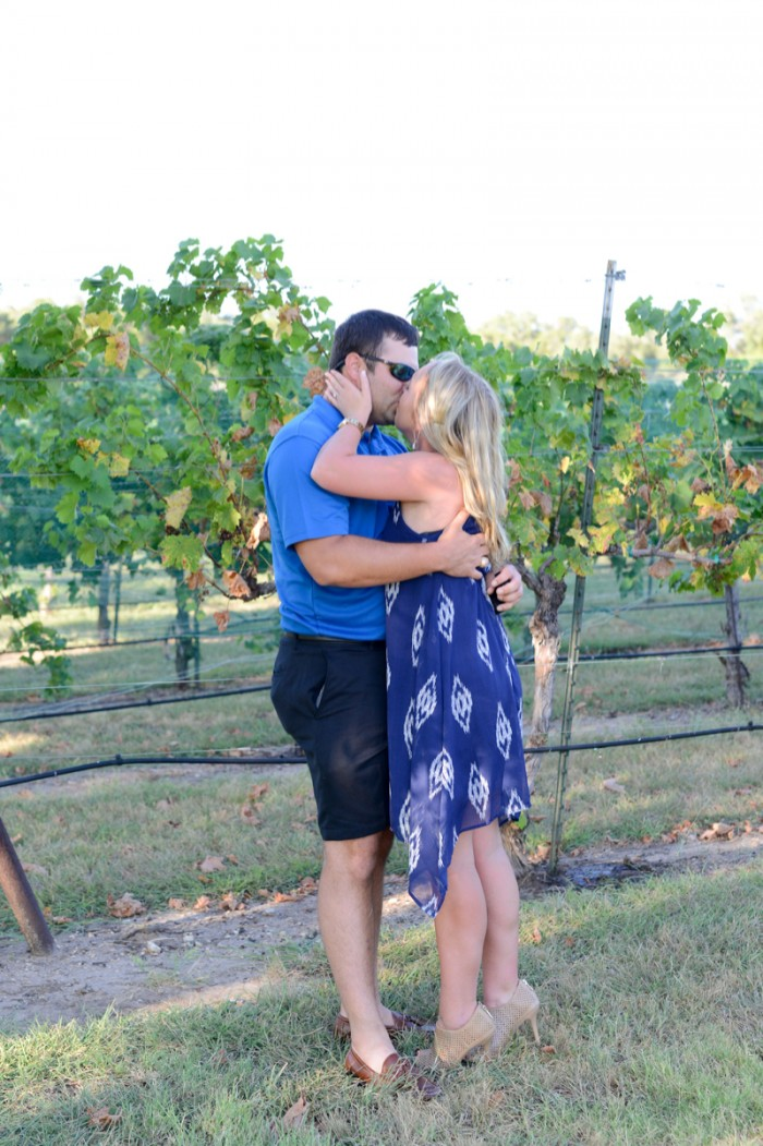 Image 8 of Chris and Paige's Flat Creek Winery Marriage Proposal