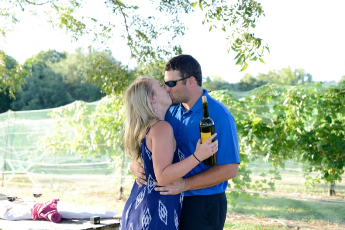 Image 9 of Chris and Paige's Flat Creek Winery Marriage Proposal