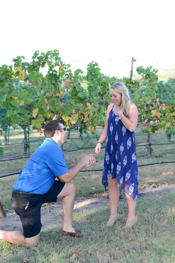 Image 5 of Chris and Paige's Flat Creek Winery Marriage Proposal