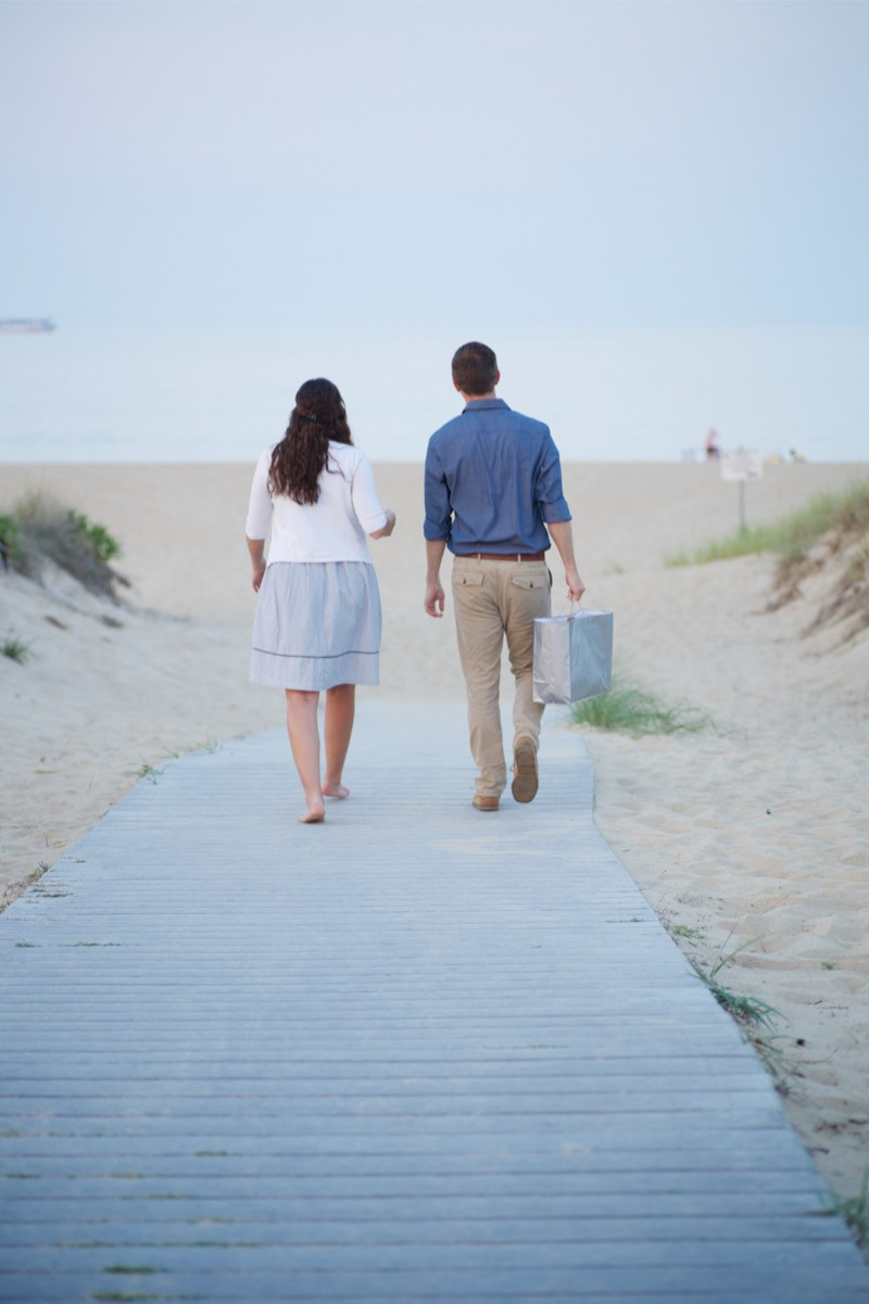 Stacey and Trevor Surprise Marriage Proposal on the Beach (10)