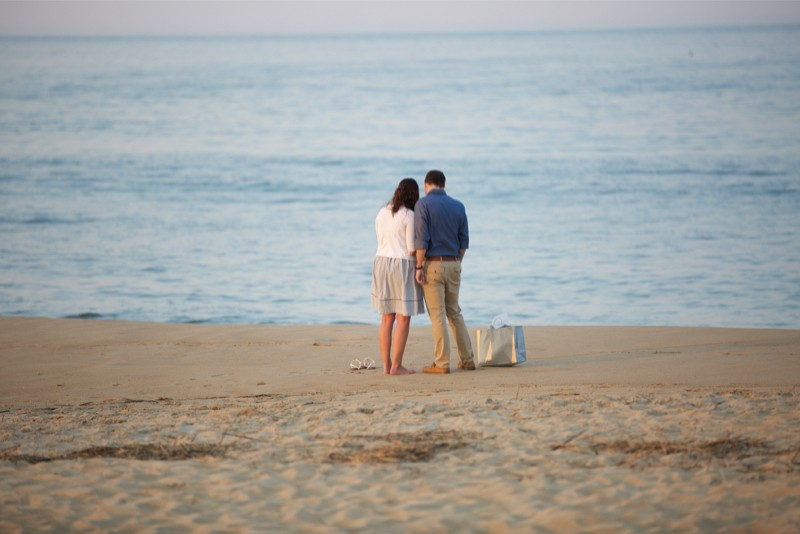 Stacey and Trevor Surprise Marriage Proposal on the Beach (2)
