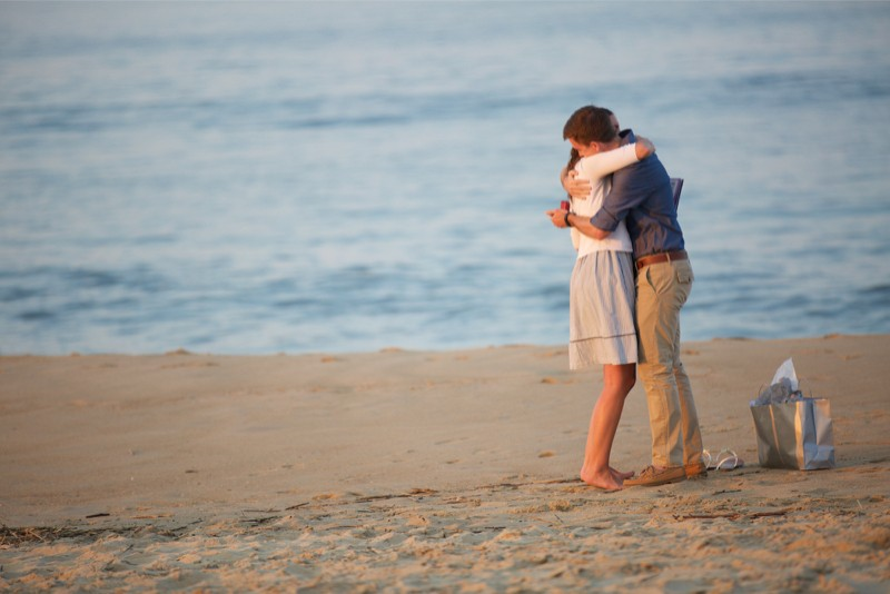 Stacey and Trevor Surprise Marriage Proposal on the Beach (6)