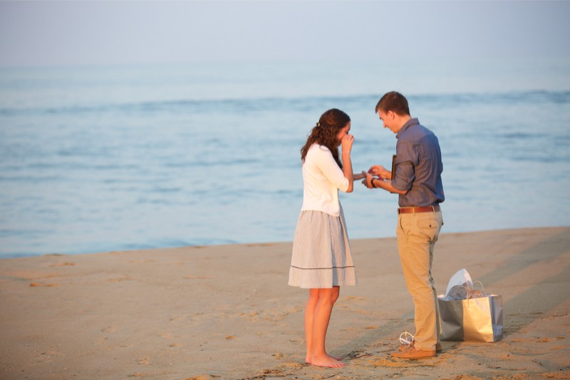 Stacey and Trevor Surprise Marriage Proposal on the Beach (8)