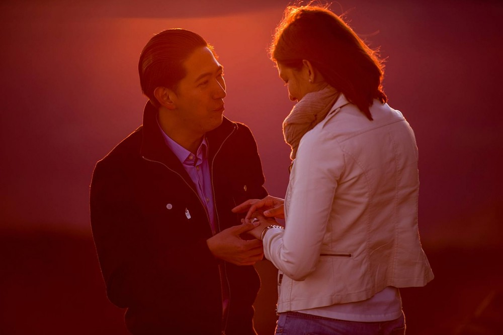 Image 5 of Cristina and Al's Sunrise Proposal at the Top of Haleakala