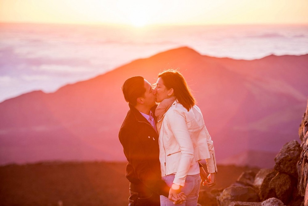 Sunrise Haleakala Proposal - Maui Proposal Photographer_0009