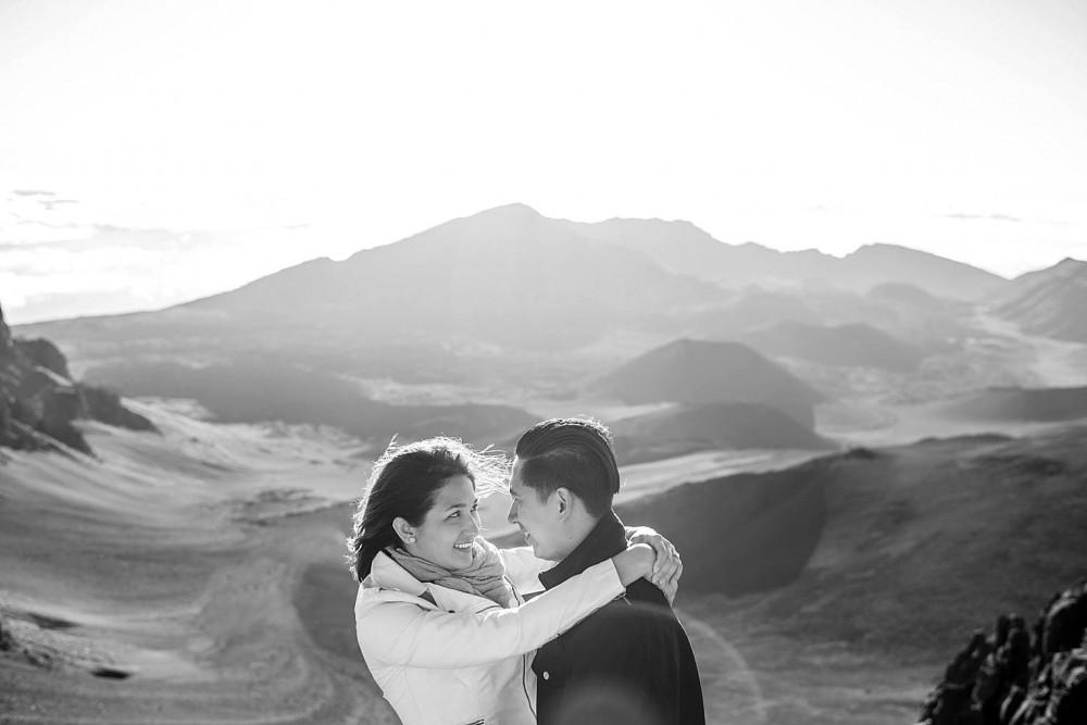 Image 10 of Cristina and Al's Sunrise Proposal at the Top of Haleakala