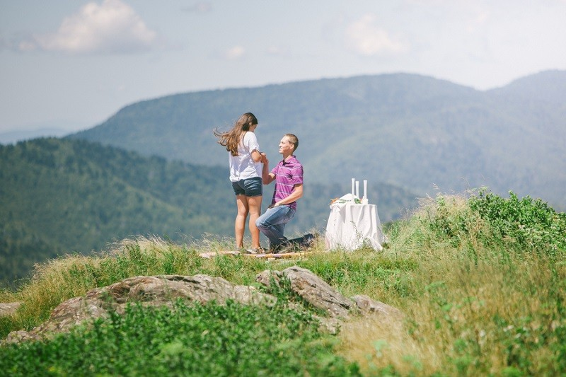 Surprise Marriage Proposal on Mountaintop 9