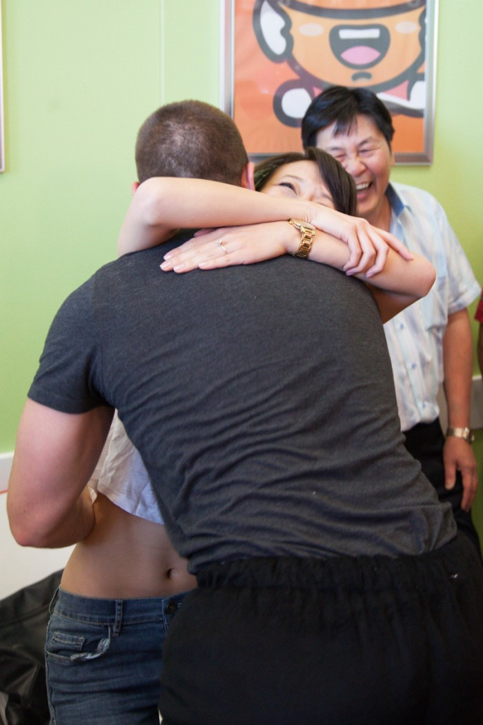 Image 9 of Zach and Diana's Surprise Proposal at a Frozen Yogurt Store