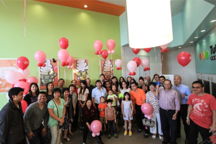 Image 10 of Zach and Diana's Surprise Proposal at a Frozen Yogurt Store