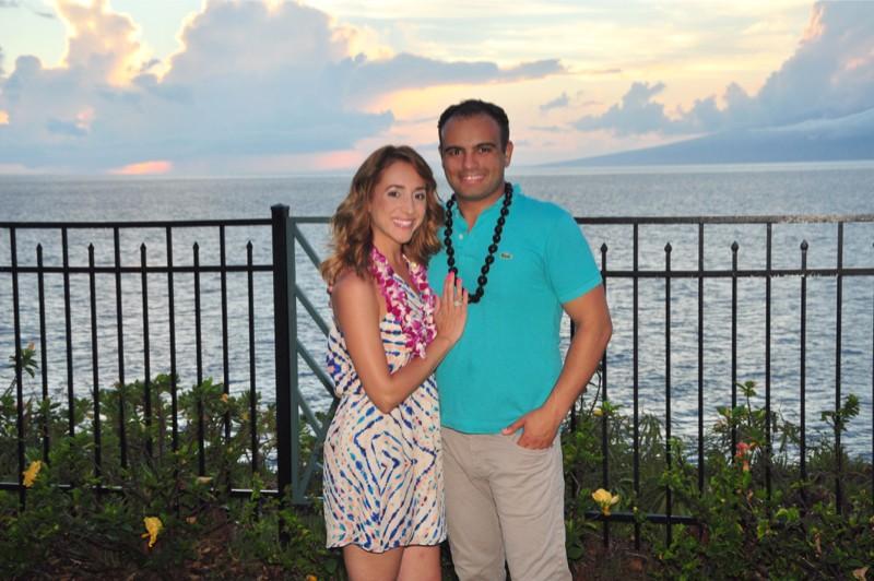 Image 1 of Angela and Raffi's Hawaiian Proposal