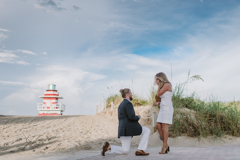 Image 2 of Taylor and Gabe's Perfect Proposal in Miami