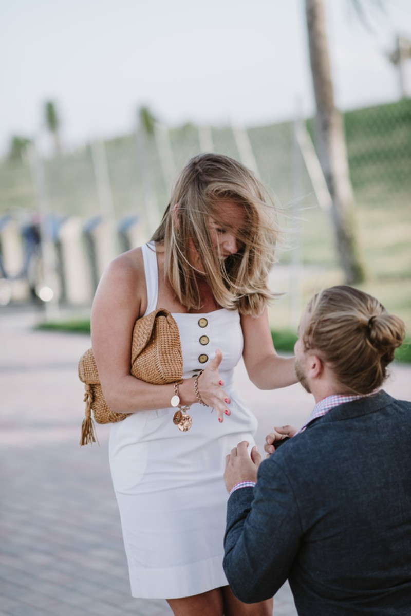 Image 3 of Taylor and Gabe's Perfect Proposal in Miami