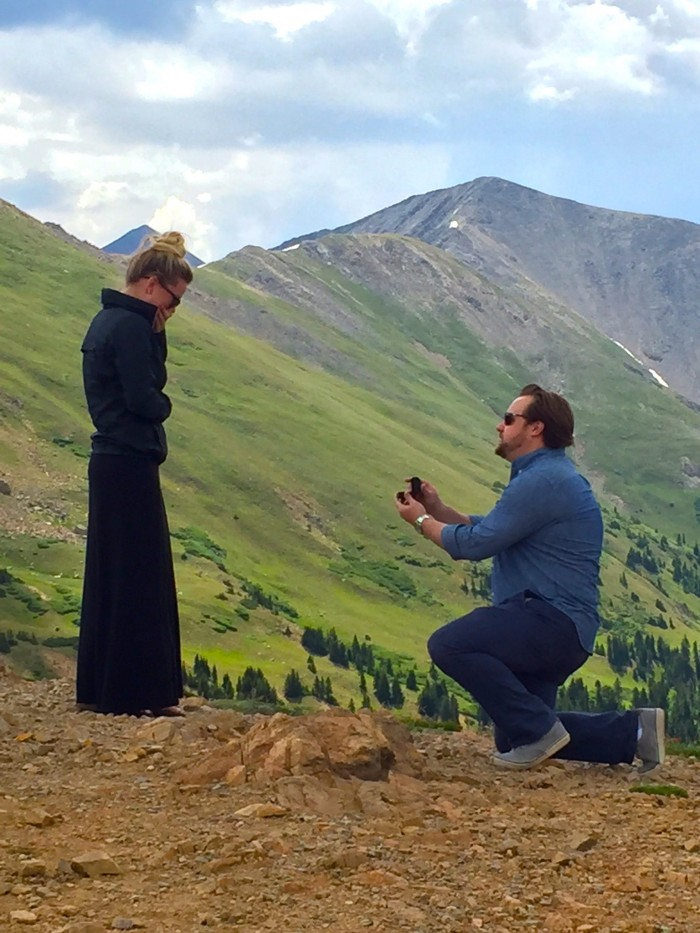 Image 2 of Platinum Proposals: See the Sweetest Proposals from Couples Who Chose Platinum