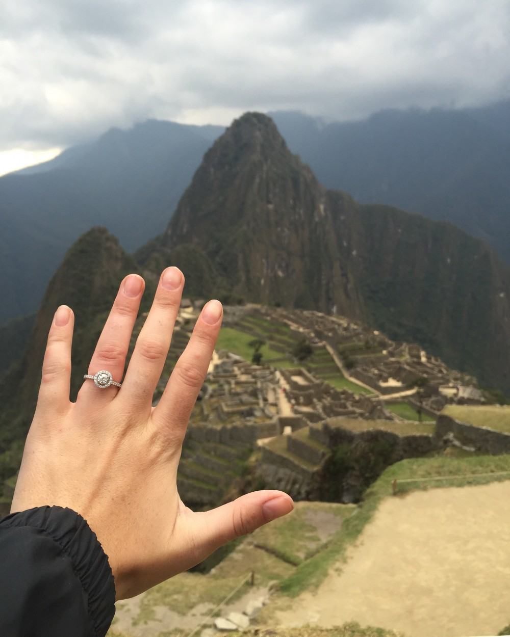 Marriage Proposal at Machu Picchu