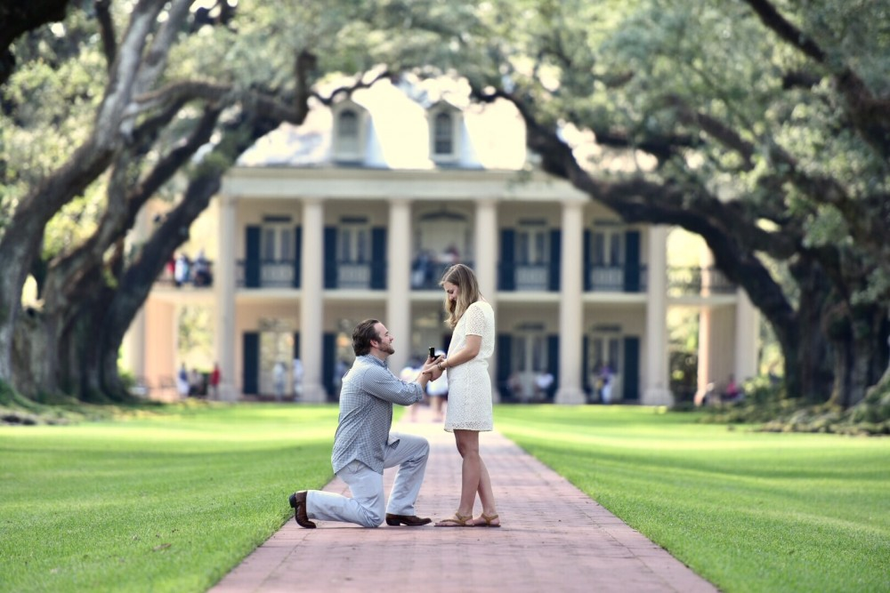 Adorable Proposal in New Orleans