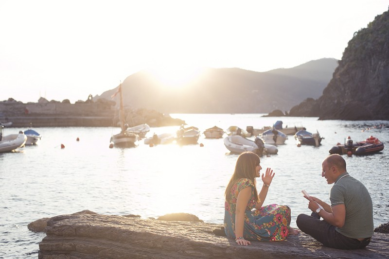 Image 4 of Charlene and Samuel's Marriage Proposal in Cinque Terre