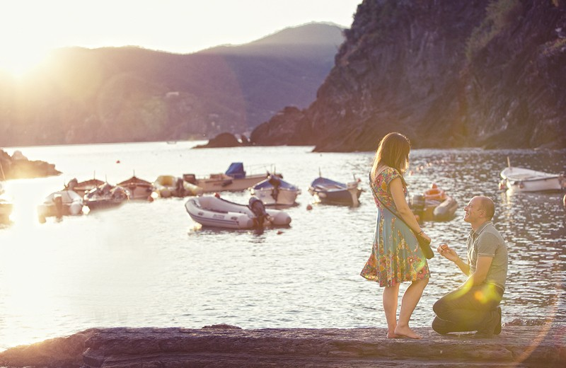 Image 9 of Charlene and Samuel's Marriage Proposal in Cinque Terre