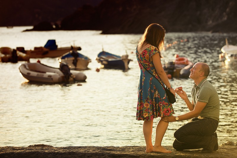 Image 10 of Charlene and Samuel's Marriage Proposal in Cinque Terre