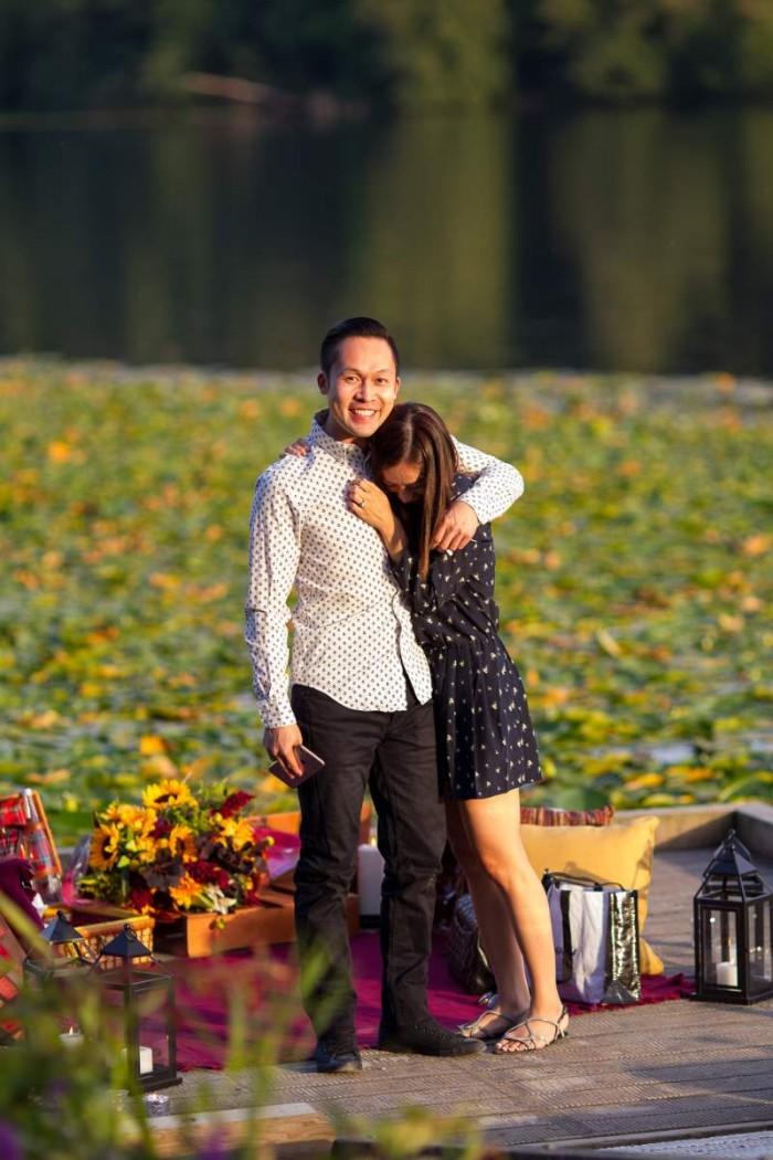 Image 11 of Jennifer and Colin's Dockside Proposal
