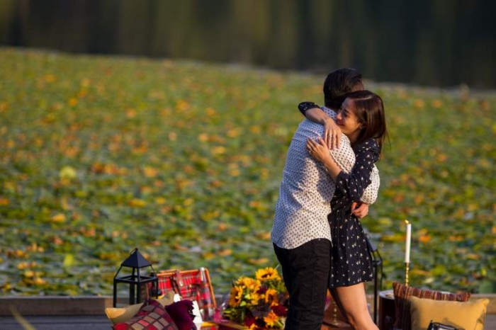Image 13 of Jennifer and Colin's Dockside Proposal