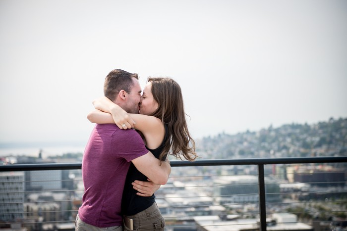 Image 8 of Auzdon and Megan's Romantic Rooftop Proposal