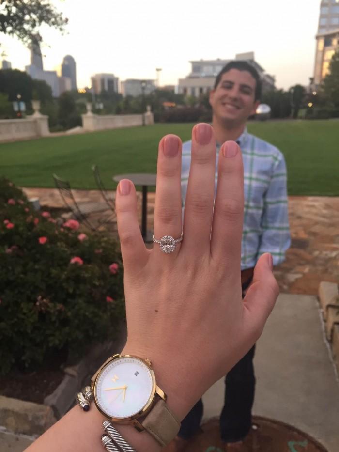 Image 8 of Amanda and Matthew's Proposal in Charlotte