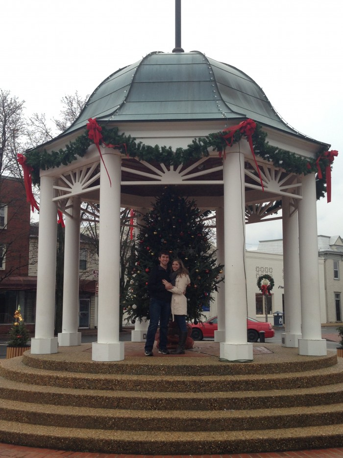 Wedding Proposal Ideas in Downtown Front Royal