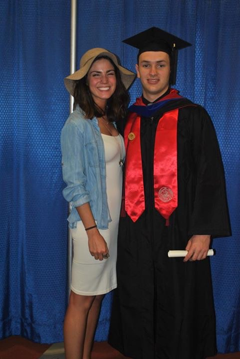 Lucas graduated with an Bachelor's in Criminal Justice