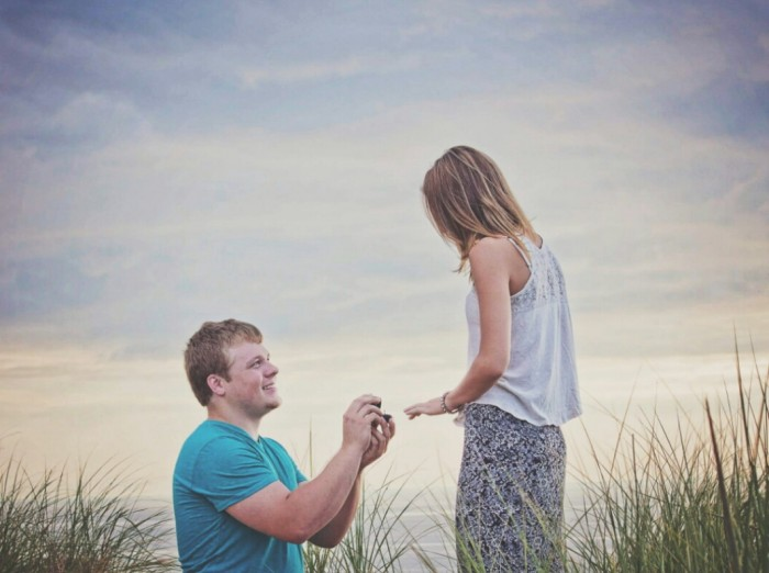 Kirsten's Proposal in Sleeping Bear Dunes, Michigan