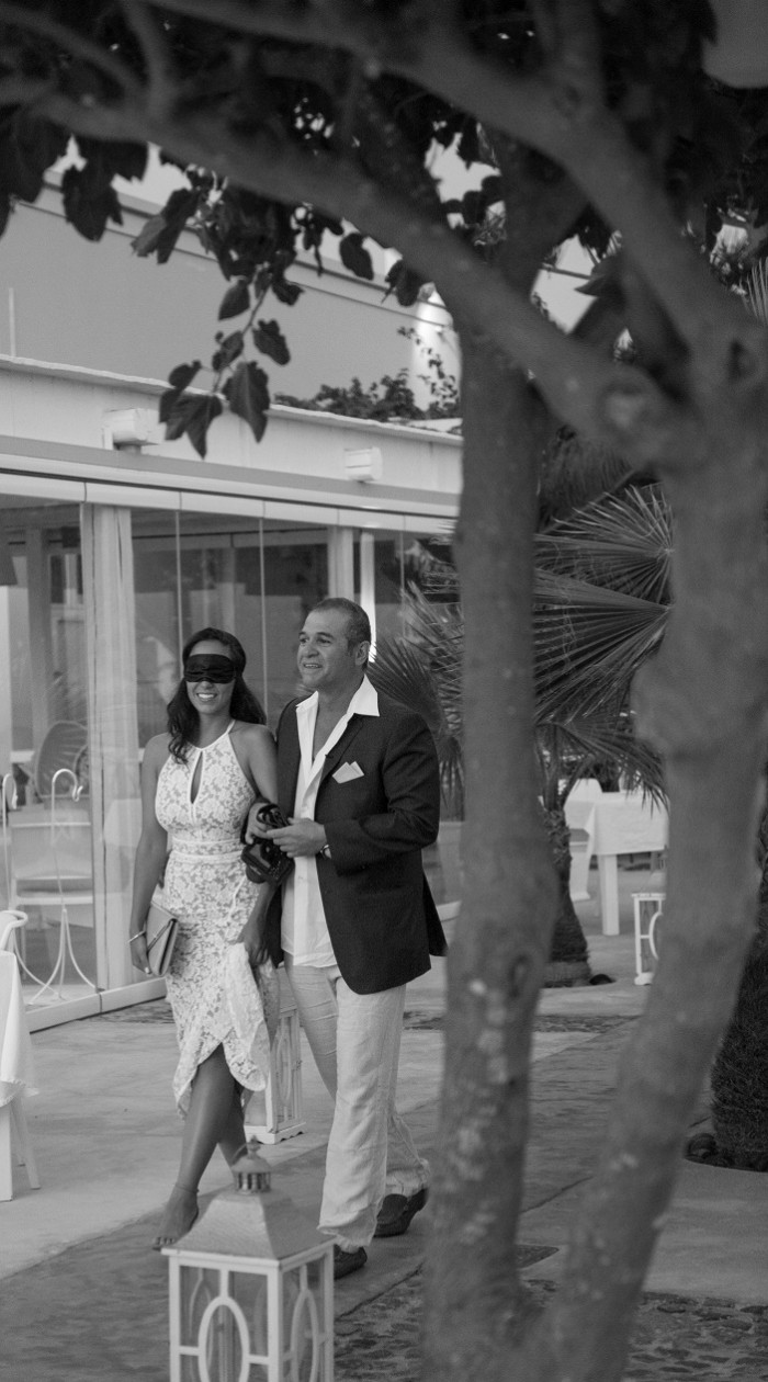 Image 3 of Olivia and George's Picture Perfect Proposal in Greece