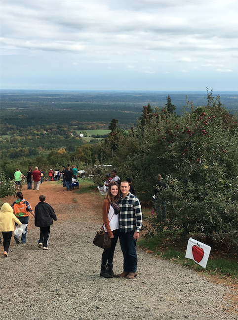 Tyler and Lucas's Engagement in Carter Mountain Orchard, Charlottesville, VA