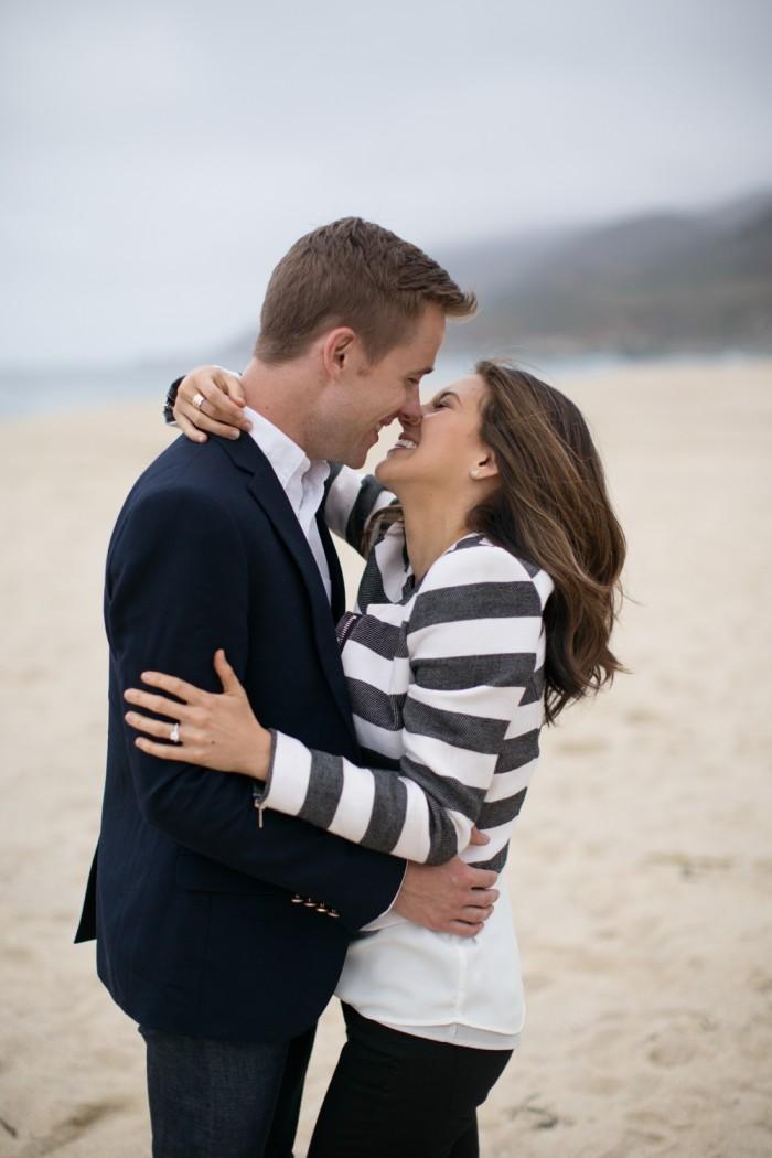 Amazing Proposal at Big Sur